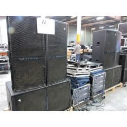 SX18 + SX SUB ADAMSON + AMP
