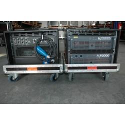 RACK P3000 + P3000 RL AMPLIFICATEUR ELECTRO VOICE