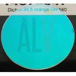 Dichro orange diam 34,5 mm