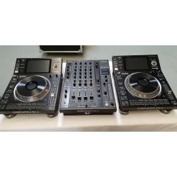 SC5000 + X1800 REGIE DJ DENON