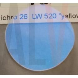 Dichro jaune diam 26 mm