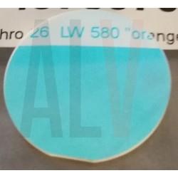 Dichro orange diam 26 mm