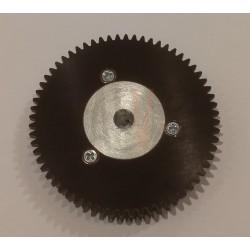 Plastic drive wheel diam 52.8 mm