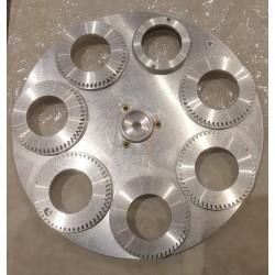 Bare gobo wheel