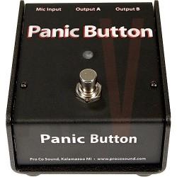 PCBDB PEDALE PANIC BOUTTON PRO CO AUDIO