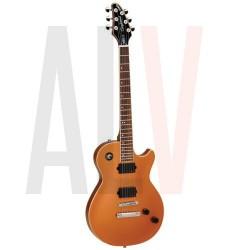 TE3CP TANGLEWOOD Estilete de guitarra eléctrica, HH, Single Cutaway, cobre metálico