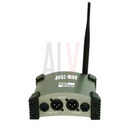 AU-DAW-2G4R + 2G4AS AUDIOPOLE Système de transmission sans fil WI-FI