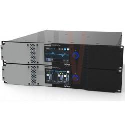 NXAM4X2 MK2 AVEC PATCH PANEL  AMPLIFICATEUR PROCESSEUR  NEXO