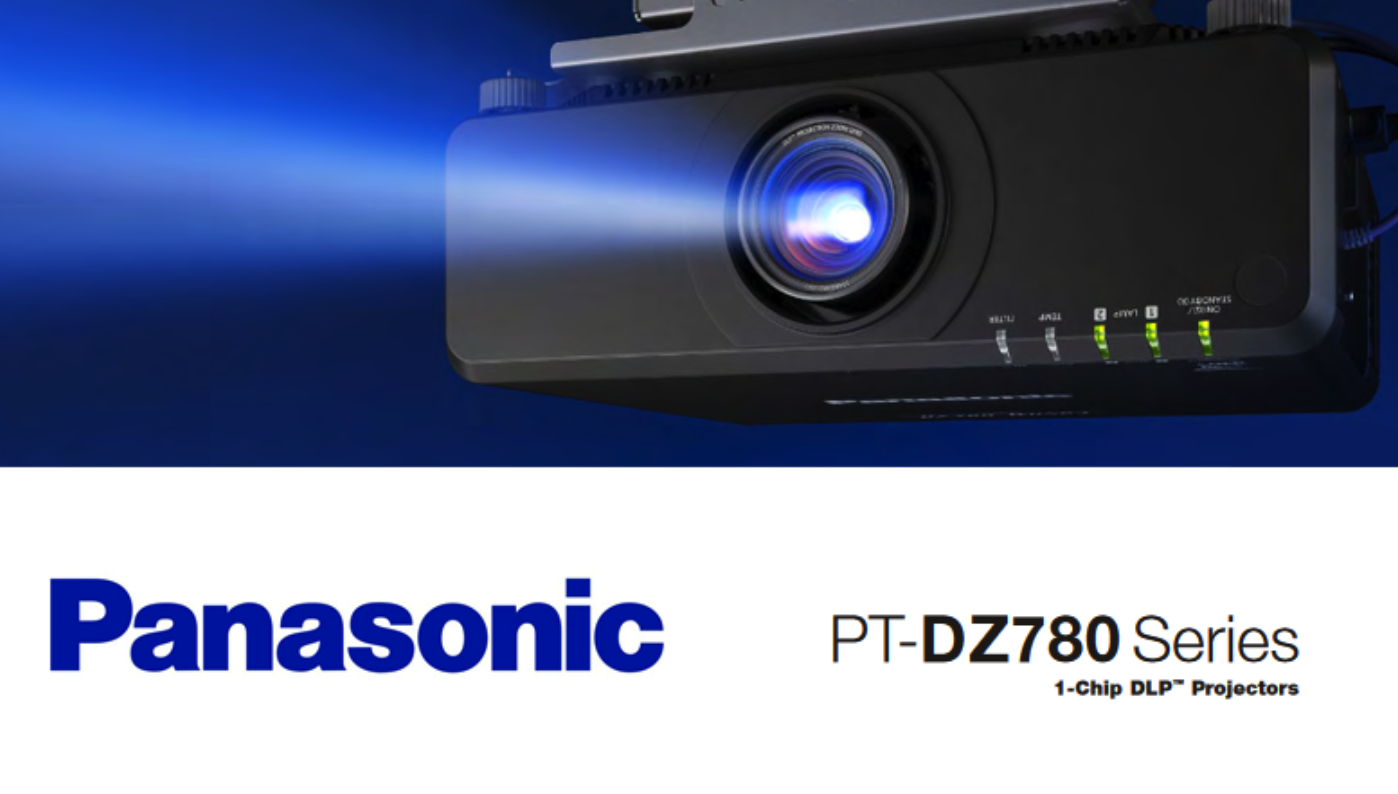 PT-DZ780 VIDEO PROJECTOR PANASONIC